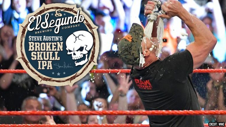 stone cold steve austin raw reunion toast beer spike sales broken skull ipa distribution