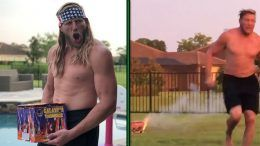 jack swagger fireworks fourth of july video wife