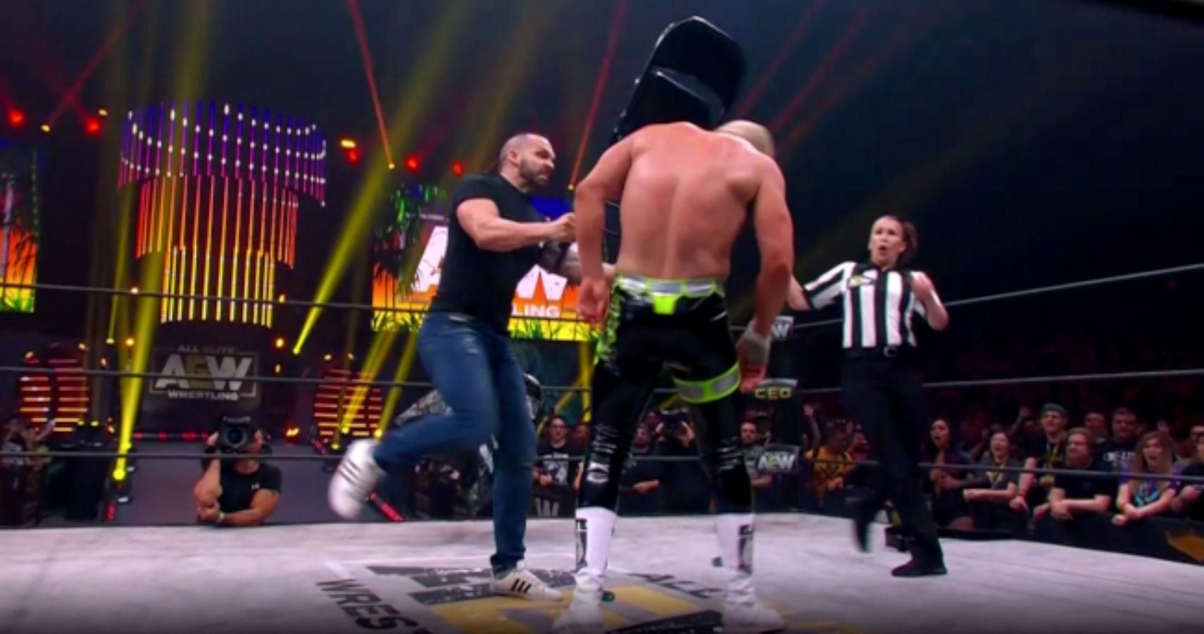 AEW Bans Chair Shots To The Head Following Cody Rhodes Scare