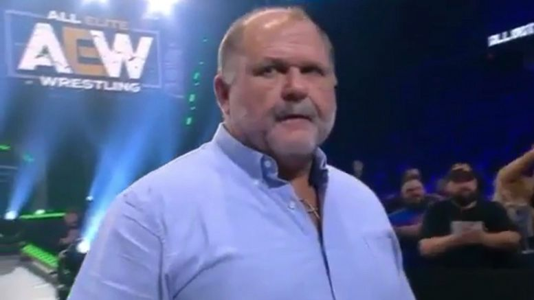 arn anderson aew all out all elite wrestling video