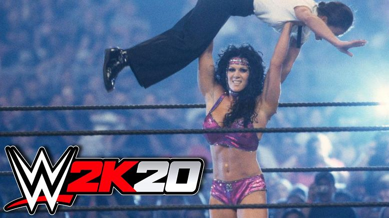 chyna wwe 2k20 becky lynch roman reigns cover