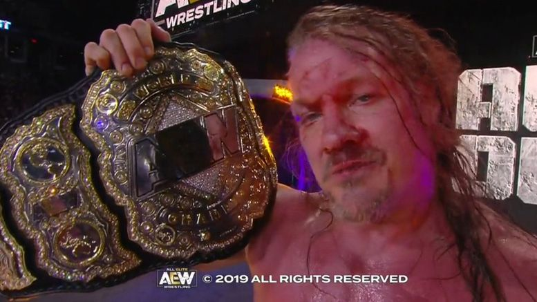 chris jericho all elite wrestling aew first champion world all out