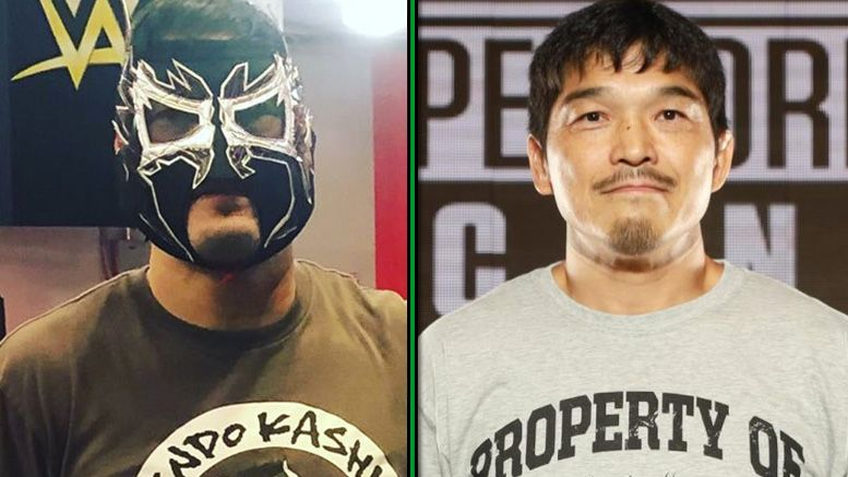 kendo kashin wwe performance center coach signs sign contract deal