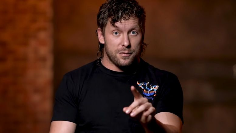 jon moxley kenny omega reaction video all out injury injured