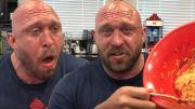 ryback spicy noodle challenge youtube channel food