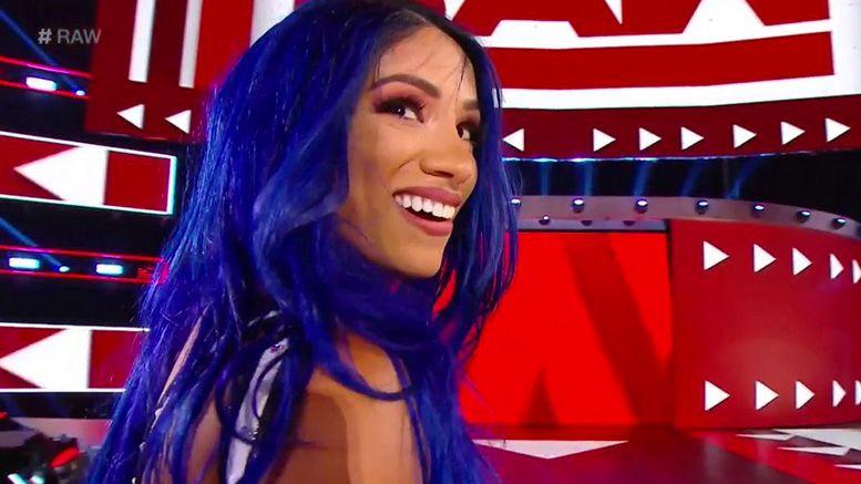 Sasha Banks returns return wwe video raw results becky lynch natalya