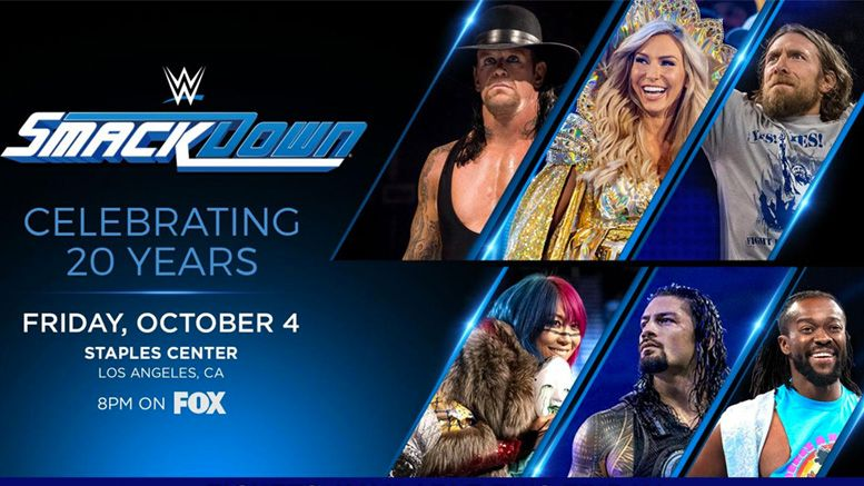 smackdown live 20th anniversary celebration fox debut premiere