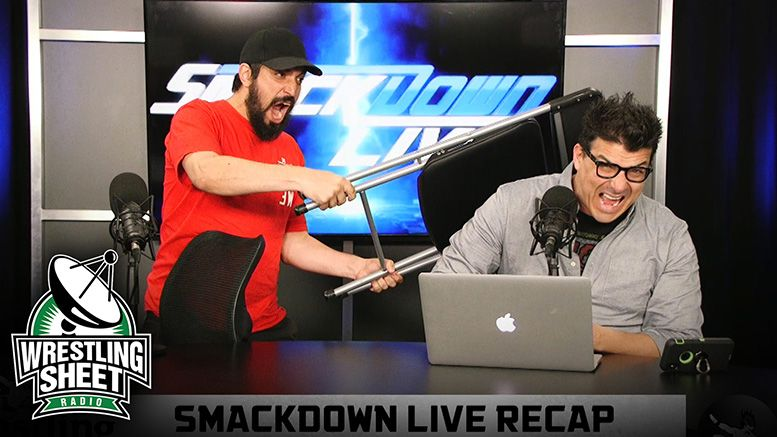 smackdown recap show ryan satin john rocha pro wrestling sheet