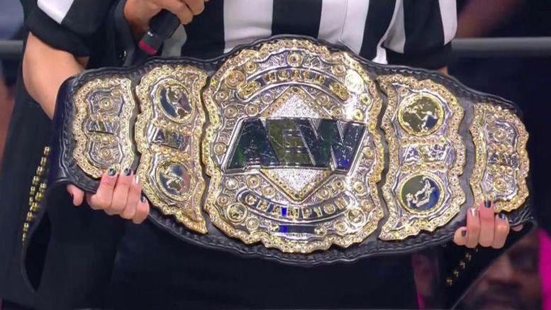 aew world championship title chris jericho missing found belt side road good samaritan