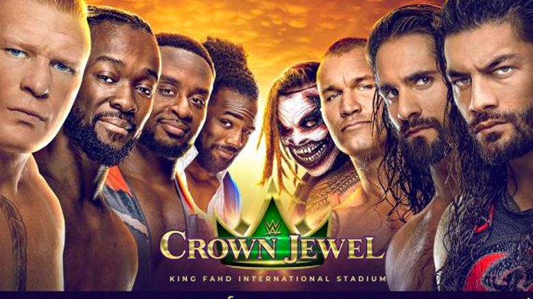 crown jewel wwe halloween saudi arabia