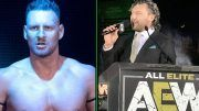 dominik dijakovic kenny omega developmental bola comment fire back fires nxt wwe aew all elite wrestling