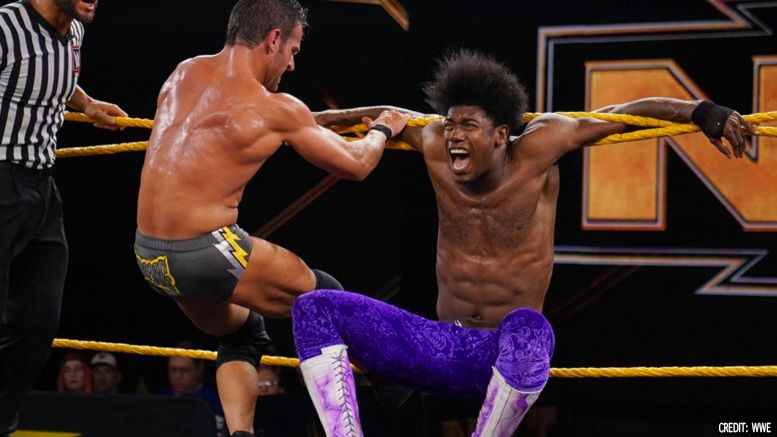 velveteen dream not cleared nxt north american title championship injured
