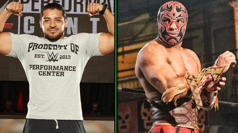 hijo del fantasma wwe performance center signs contract