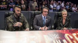 wwe new announcers raw smackdown michael cole corey graves renee young vic joseph dio maddin