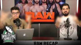 raw recap show ryan satin john rocha pro wrestling sheet