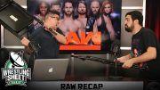 raw recap show pro wrestling sheet john rocha ryan satin