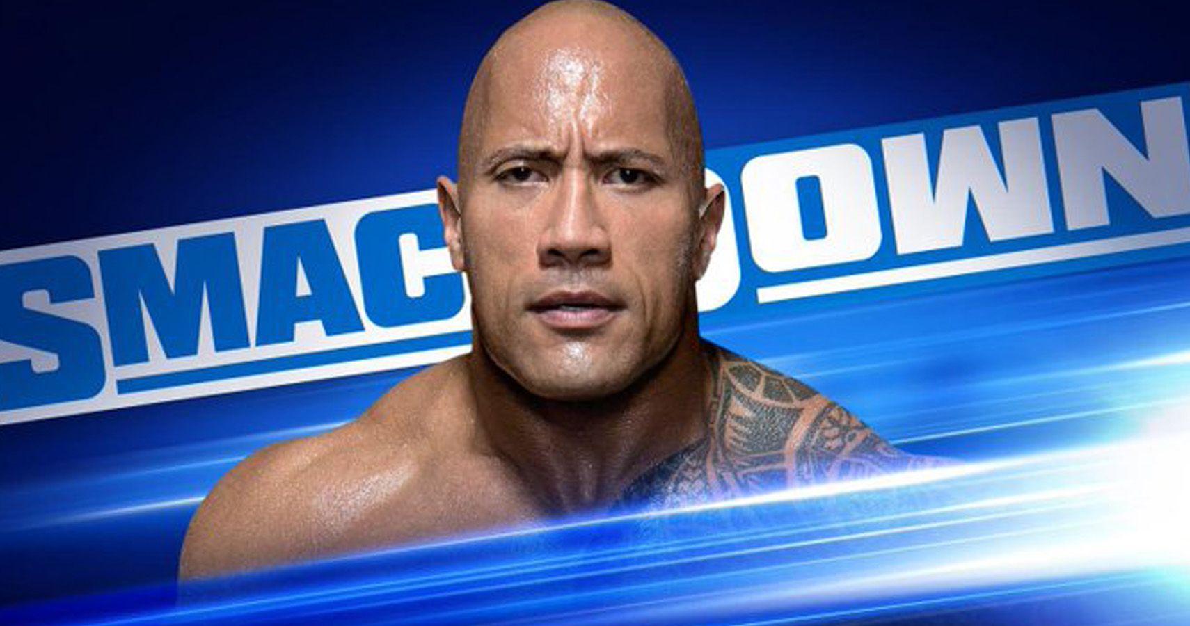 the rock, dwayne johnson, wwe, smackdown live, fox