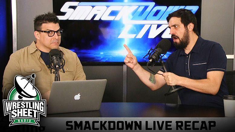 smackdown live recap september 25 ryan satin wrestling sheet
