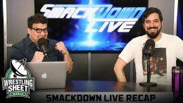 smackdown recap show pro wrestling sheet ryan satin john rocha