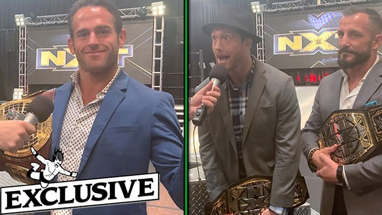 undisputed era bobby fish kyle o'reilly roderick strong nxt wwe performance center ryan satin interview