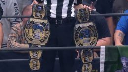 aew tag team titles belts crowned first champions
