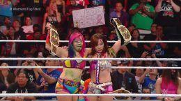kabuki warriors, wwe, hell in a cell, asuka, kairi sane =, nikki cross, alexa bliss wwe women's tag team champions