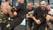 tyson fury wwe braun strowman performance center altercation blindsided