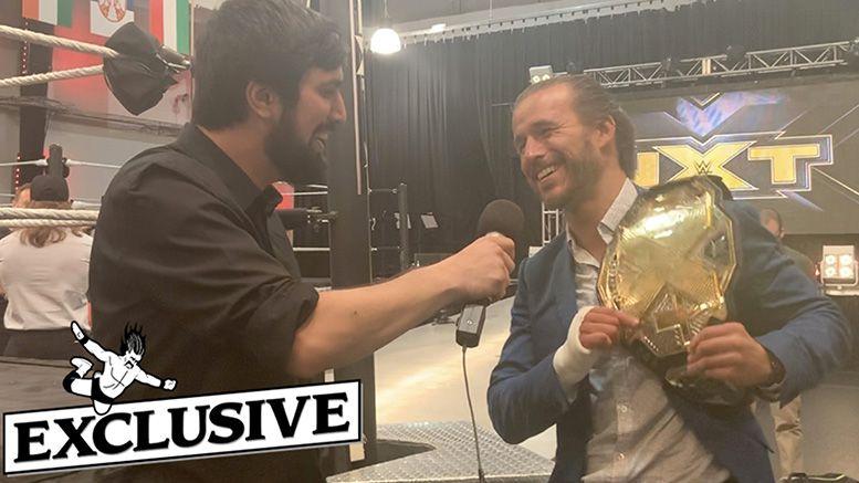adam cole nxt interview usa network ryan satin undisputed era
