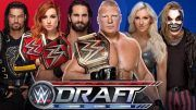 wwe draft updates picks raw smackdown choices