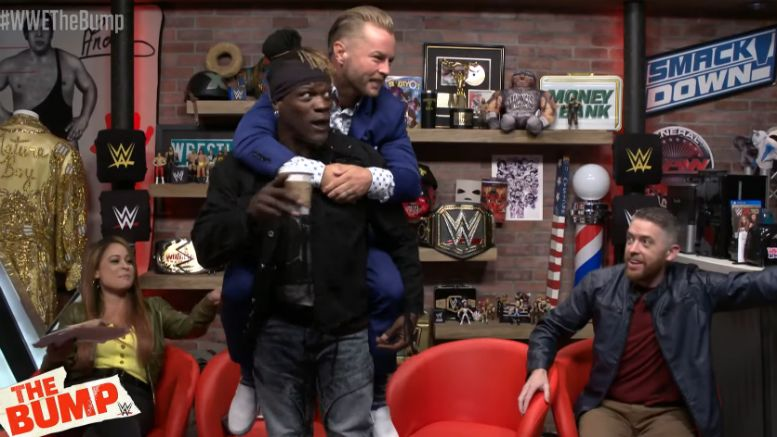 wwe, the bump, r-truth, drake maverick, carmella, 24/7 championship