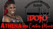 ember moon wrestling school trainer the dojo