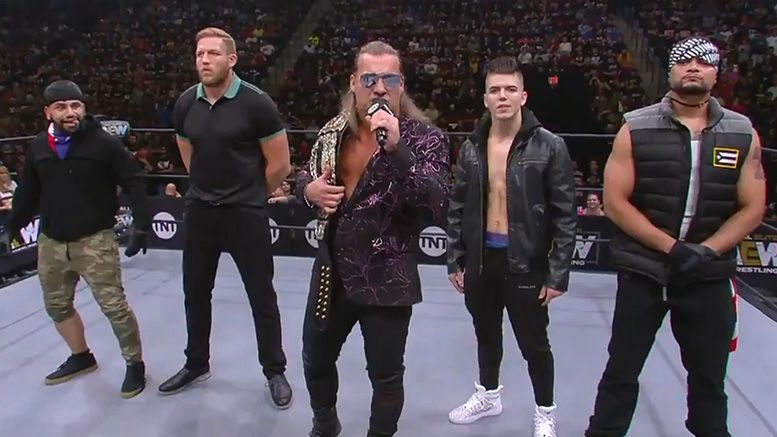 inner circle chris jericho stable name aew all elite wrestling dynamite