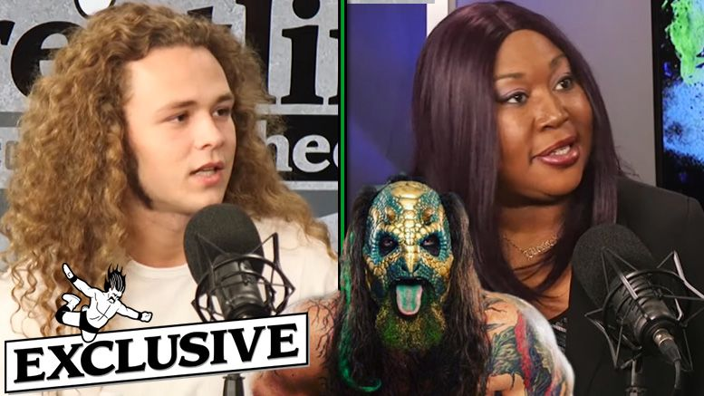 luchasaurus injury details jungle boy awesome kong interview aew all elite wrestling dynamite tnt
