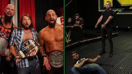the oc react finn balor heel turn nxt video