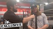 matt riddle wwe nxt goldberg brock lesnar interview usa network adam cole