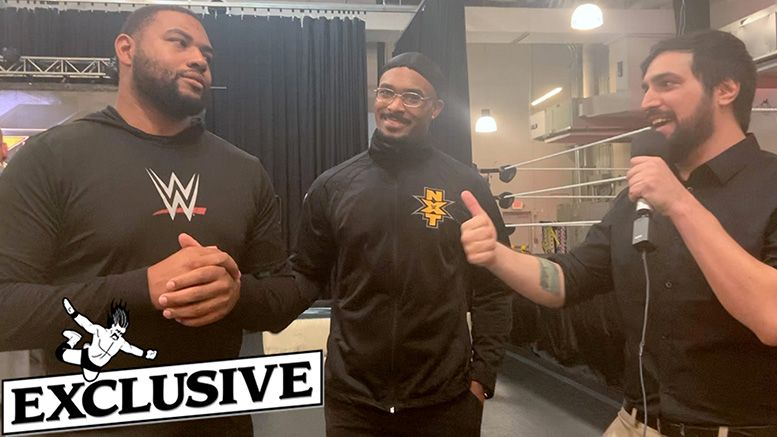 street profits interview tag championships gold every brand montez ford angelo dawkins