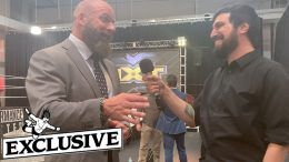 Triple H interview nxt usa network live wwe performance center ryan satin pro wrestling sheet