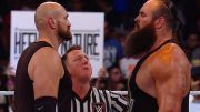 tyson fury braun strowman wwe crown jewel results video