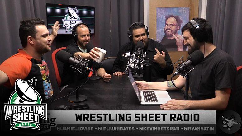 wrestling sheet radio aew nxt bruce prichard eric bischoff