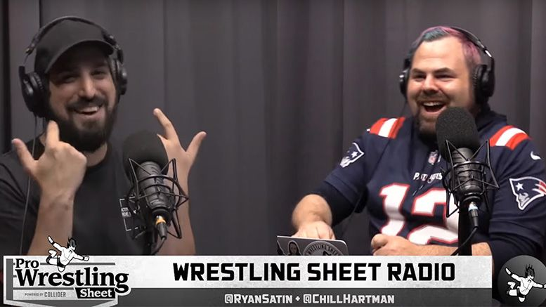 wrestling sheet radio wwe draft aew nxt master p kevin smith