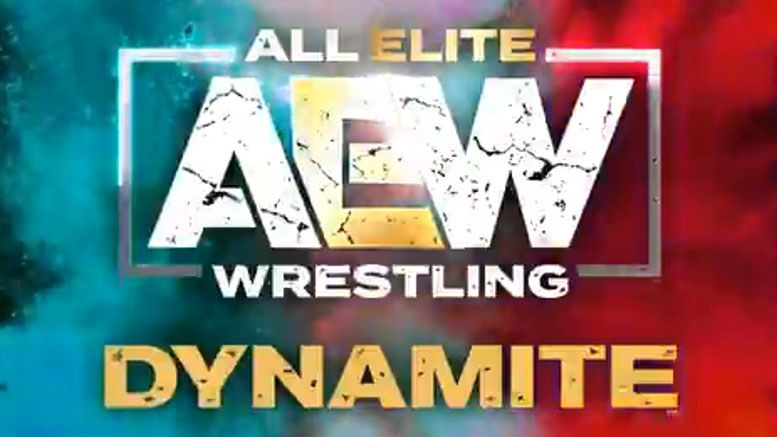 aew all elite wrestling dynamite battle royal diamond ring