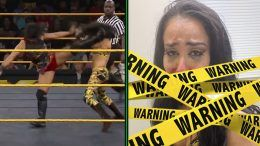 xia li aliyah busted open bloody photo picture nxt wwe