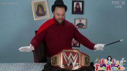 bray wyatt blue wwe universal championship title belt unveiling video