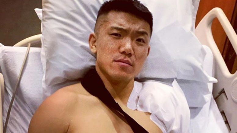 boa nxt injured shoulder surgery wwe
