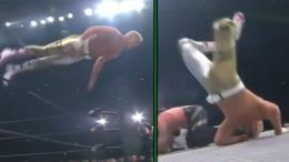 cody rhodes chris jericho aew full gear results face-plant face video ramp