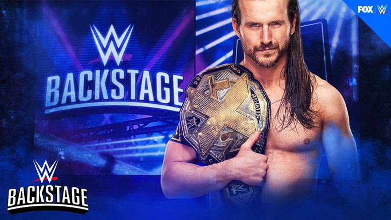 adam cole wwe backstage guest fs1