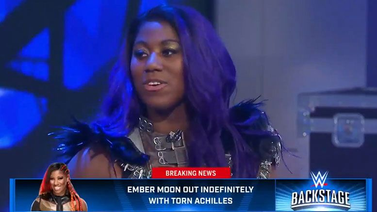 ember moon confirms injury wwe backstage