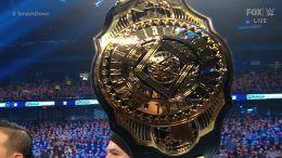 intercontinental title wwe new belt video