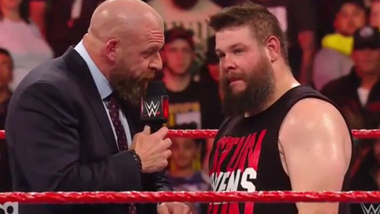 kevin owens nxt wwe raw triple h segment invite video