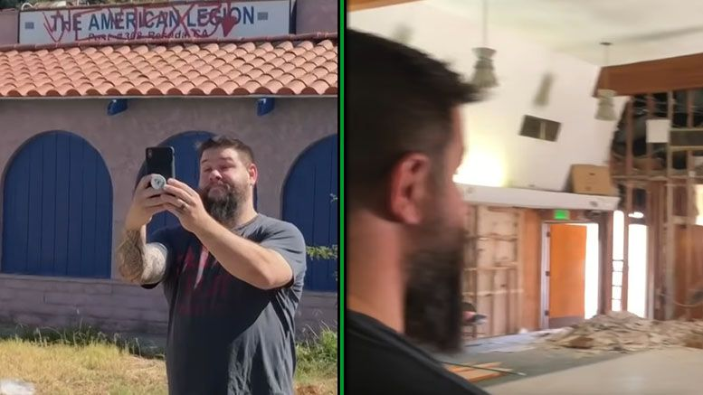 kevin owens pwg legion hall reseda torn down goodbye video ride along